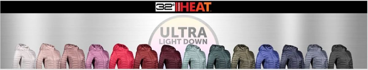 32 Heat, Ultra Light Down