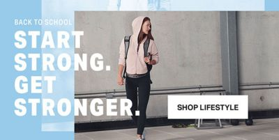 Back to School, Start Strong, Get Stronger, Shop Lifestyle