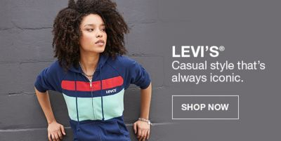 Levis Casual style that's always iconic, Shop Now