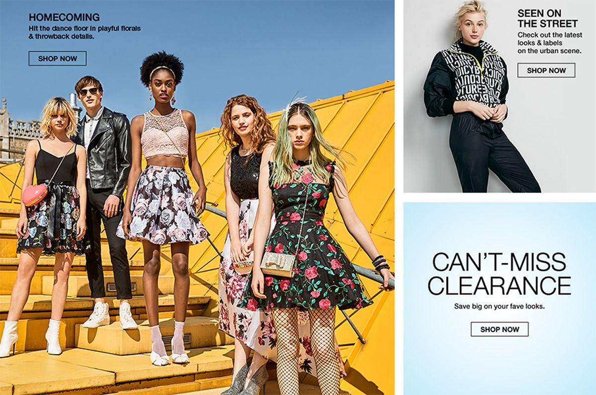 Juniors Clothing - Macy's