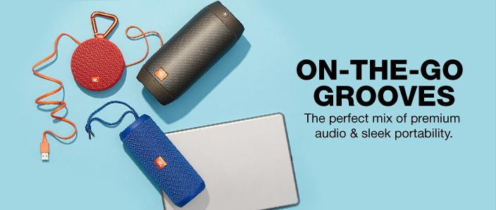 On-The-go Grooves, The perfect mix of premium audio and sleek portability