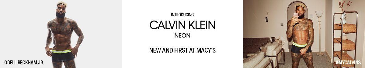 Odell Beckham JR, Introducing Calvin Klein Neon, New and First at Macys