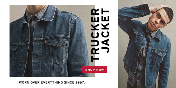 Trucker Jacket, Shop Now, Worn Over Everything Since 1967