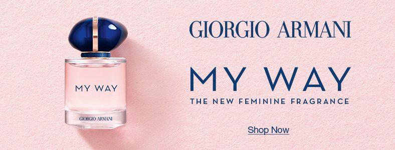 Giorgio Armani, My Way, The New Feminine Fragrance, Shop Now