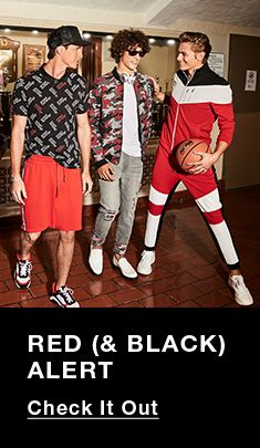 Red, and Black, Alert, Check it Out