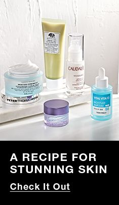 a Recipe For Stunning Skin, Check it Out