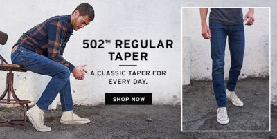 502 Regular Taper a Classic Tapper For Every Day, Shop Now