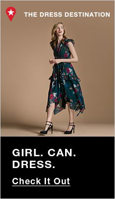 The Dress Destination, Girl Can Dress, Check It Out