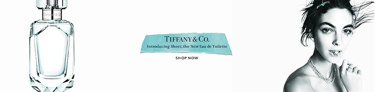 Tiffany and Co. Introducing sheer, the New Eau de Toilette, Shop Now