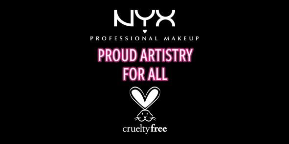 Nyx Professional Makeup Proud Artistry for all , cruelty free