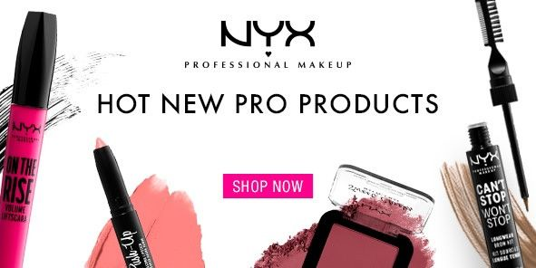 nyx Professional Makeup Hop New pro products, Shop Now