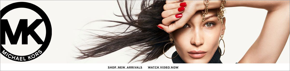 Michael Kors, Shop New Arraivals, Watch Video Now