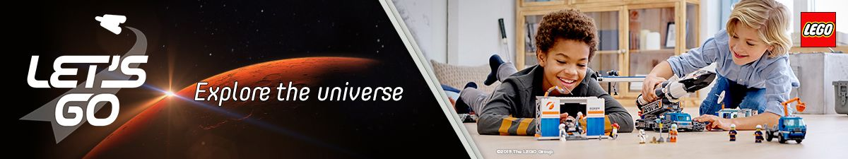 Lets go, Explore the universe, Lego