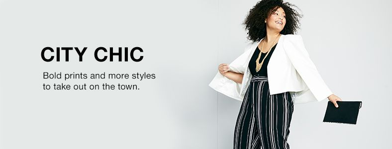City Chic, Bold Prints and more styles to take out on the town