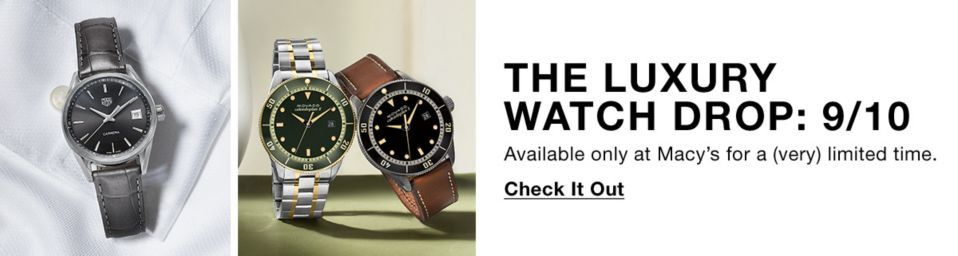 Mens Watches - Macy's