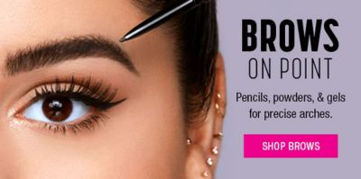 Brows on Point, Pencils, Powders and gets for precise arches, Shop Brows