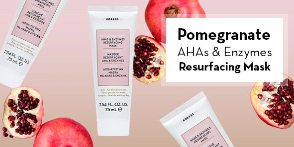 Pomegranete Ahas and Enzymes Resufacing MASK