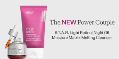 The New Power Couple, Star Light Retinol Night oil Moisture Matrix Melting Cleanser