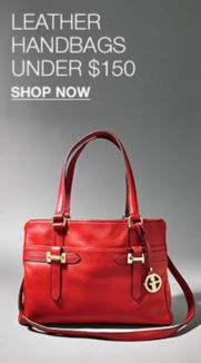 4b3ffe68536df3 Leather Handbags Under $150, Shop Now