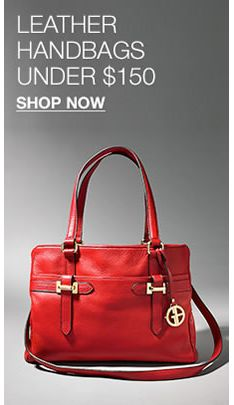 88e829f87711 Leather Handbags Under $150, Shop Now