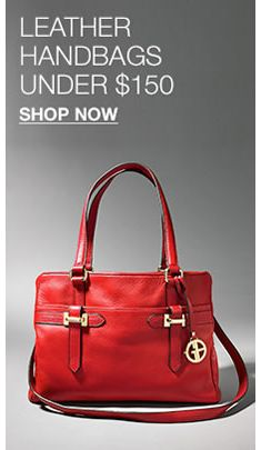 143483965a Leather Handbags Under  150
