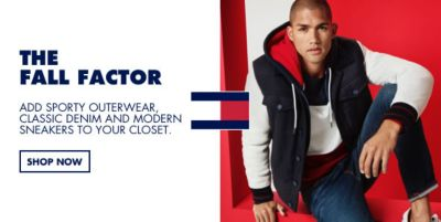The Fall Factor, Add Sporty Outrwear, Classic Denim and Modern Sneakers to Your Closet, Shop Now