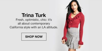 Trina Turk, Fresh, optimistic chic: it's all about contemporary California style with an LA attitude, Shop Now