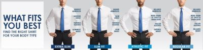 Men's Dress Shirts White Collar