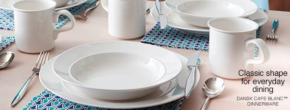 Classic Shape for everyday dining