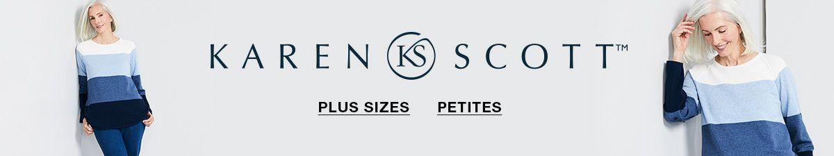 Karen Scott, Plus Sizes,  Petites