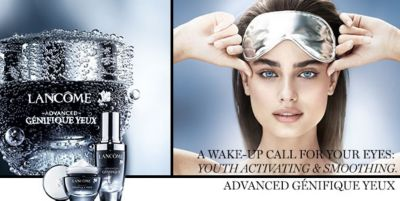 Lancome, A Wake-up Call For Your Eyes, Youth Activating and Smoothing Advanced Genifique Yeux