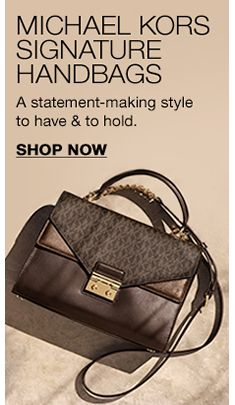 353fa2cc186f Michael Kors Signature Handbags