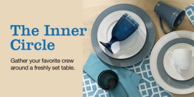 The Inner Circle, Gather your favorite crew around a freshly set table
