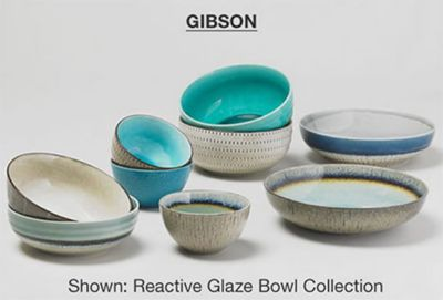 Gibson, Shoen: Reactive Glaze Bowl Collection