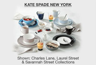 Kate Spade New York, Shown: Charles Lane, Laurel Street and Savannah Street Collections