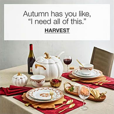 Autumn has you like, I need all of this, Harvest