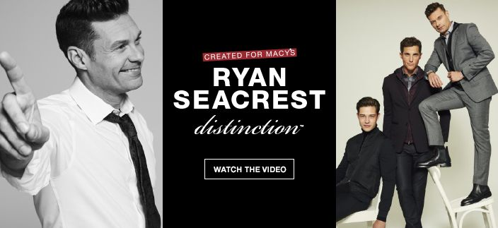 Created for Macy's, Ryan Seacrest distinction, Watch the Video