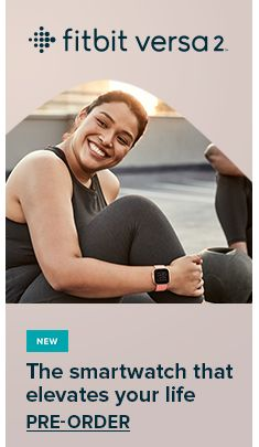 Fitbit versa 2, New, The smartwatch that elevates your life, Pre-Order