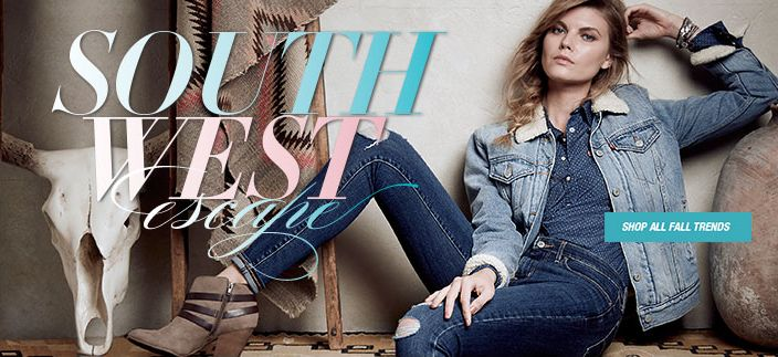 South West, Shop all Fall Trends