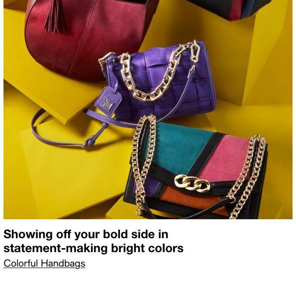 Colorful Handbags