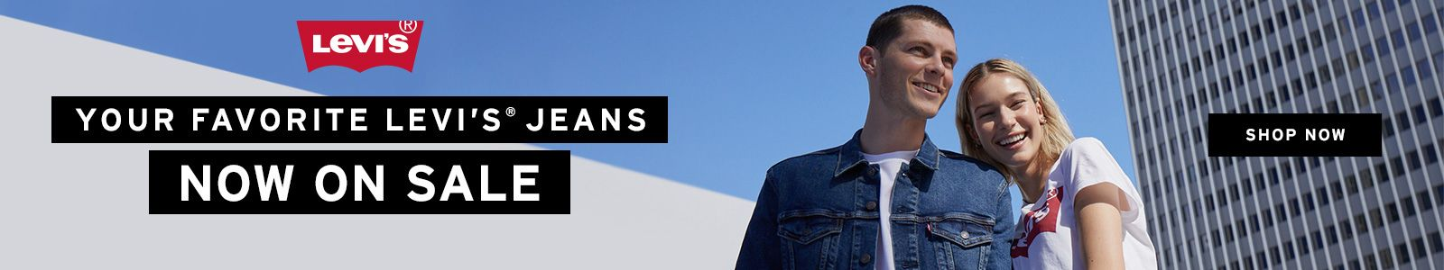 Your Favorite Levi's Jeans Now on Sale