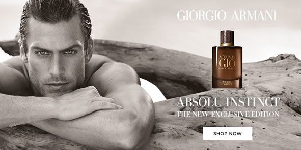 Giorgio Armani, Absolu Instinct, The New Exclusive Edition, Shop Now