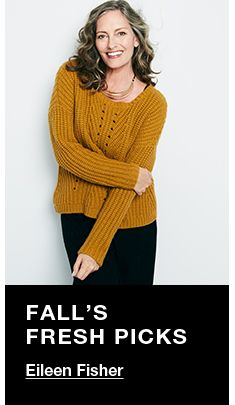 Fall's Fresh Picks, Eileen Fisher