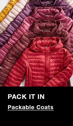 Pack it In, Packable Coats