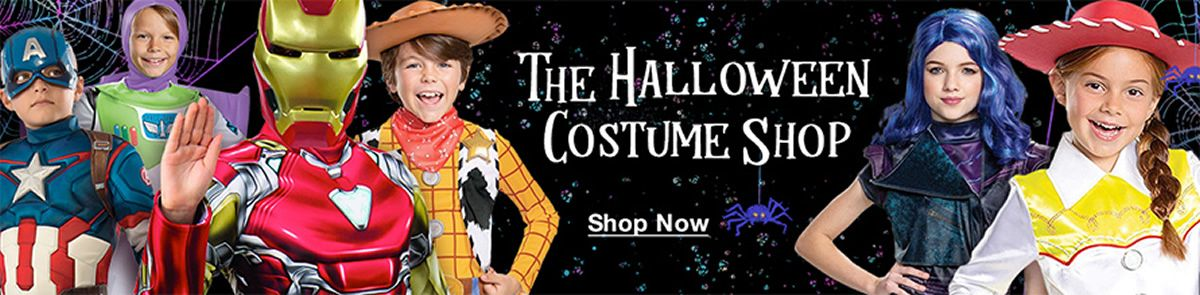 The Halloween Costume Shop, Shop Now