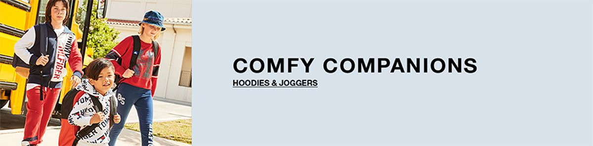 Comfy Companions, Hoodies and Joggers