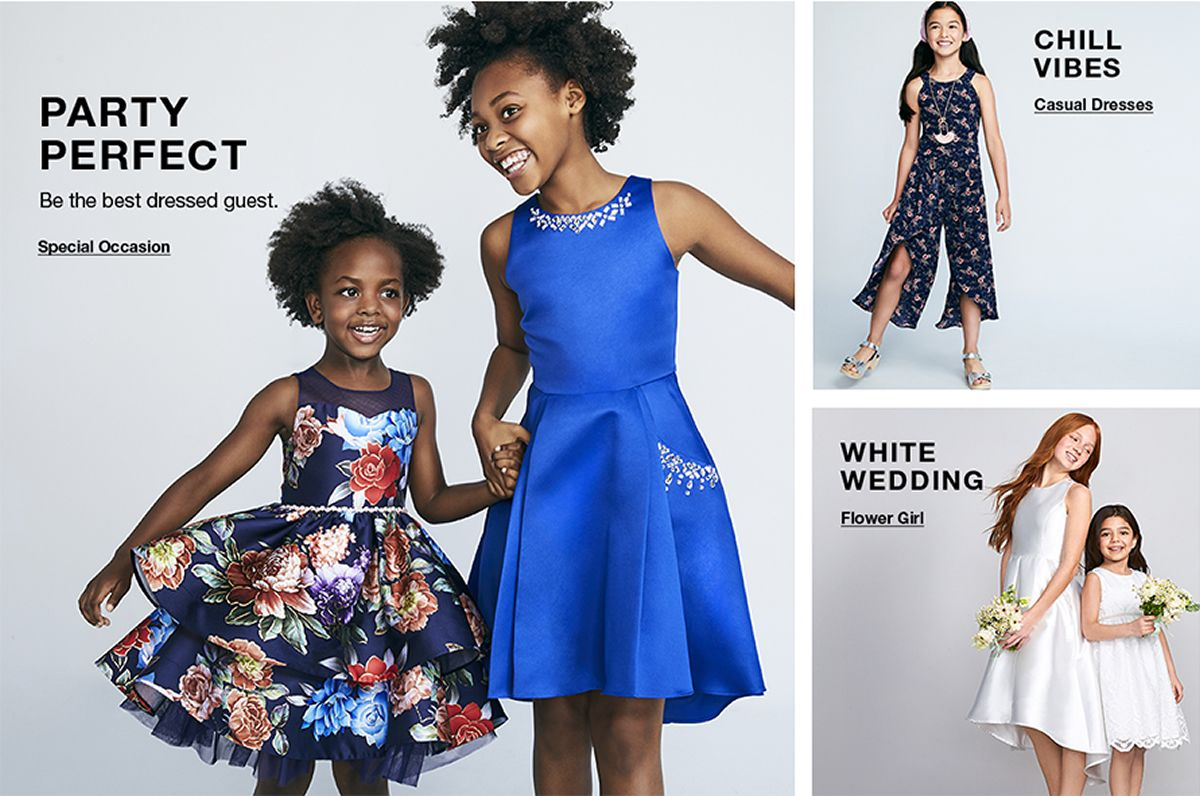 Party Perfect, Be the best dressed guest, Special Occasion Chill Vibes, Casual Dresses, White Wedding, Flower Girl