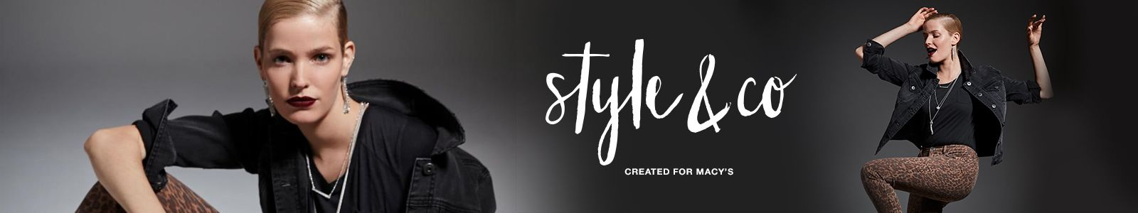 Style and co, Created for Macys