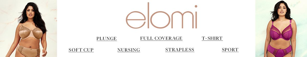 Elomi, Plunge, Full Coverage, T-Shirt, Soft Cup, Nursing, Strapless, Sport