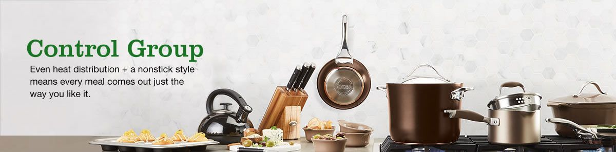 Control Group, Event heat distribution + a nonstick style means every meal comes out just the way you like it